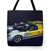 Ford Gt Concept Tote Bag