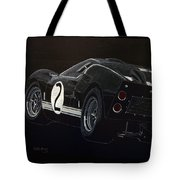 Ford Gt40 Racing Tote Bag