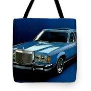 Ford Lincoln Versailles 1981 - American Dream Cars Catus 1 No. 2 H B Tote Bag