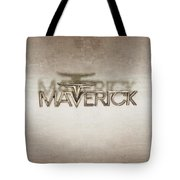 Ford Maverick Badge Tote Bag