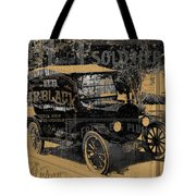 Ford Model T Made Using Found Objects Tote Bag