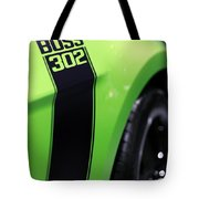 Ford Mustang - Boss 302 Tote Bag by Gordon Dean II