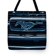 Ford Mustang Grille Tote Bag