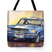 Ford Mustang Gt 350 1966 Tote Bag