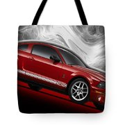 Ford Mustang Gt 500 3 Tote Bag
