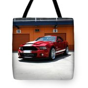 Ford Mustang Shelby Gt500 Tote Bag