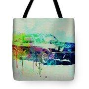 Ford Mustang Watercolor 2 Tote Bag
