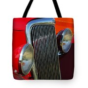 Ford Roadster Grille Tote Bag
