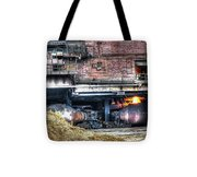 Ford Rouge Plant Steelmill Tote Bag