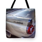 Ford Thunderbird Fender Color  Tote Bag