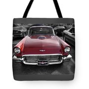 Ford Thunderbird Red V1 Tote Bag