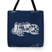 Ford Tractor Patent 1919 Tote Bag