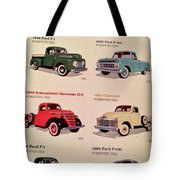 Ford Truck Stamps Tote Bag