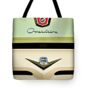 Ford V8 Pickup Emblem Tote Bag