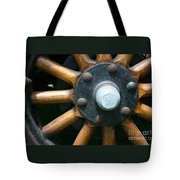 Ford Wagon Wheel Tote Bag