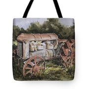 Fordson Model F Tote Bag by Sam Sidders