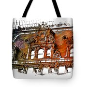 Forefathers Earthy Rainbow 3 Dimensional Tote Bag