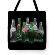 Foreign Cola Bottles Tote Bag