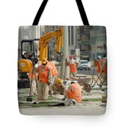 Foreign Workers - Manama Bahrain Tote Bag