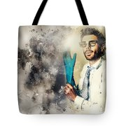 Forensic Analysis With Crime Scene Intelligence Tote Bag