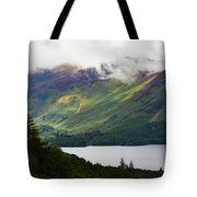 Forest And Lake Derwent Water Drama Tote Bag