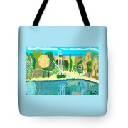 Forest At The Shore Tote Bag