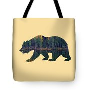 Forest Bear Tote Bag