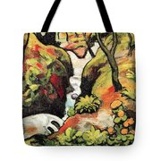 Forest Brook By August Macke Tote Bag