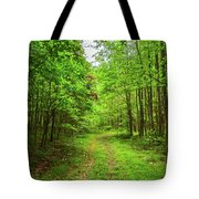 Forest Byway Tote Bag
