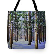 Forest Cathedral Tote Bag
