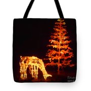 Forest Christmas Tote Bag