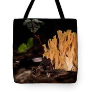 Forest Coral Fungi Tote Bag