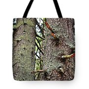 Forest Corrosion Bark Tote Bag