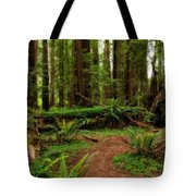Forest Court Tote Bag