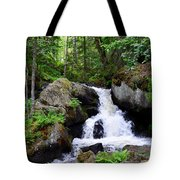 Forest Creek Tote Bag