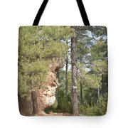 Forest Face Tote Bag
