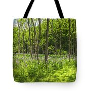 Forest Floor Dame's Rocket Tote Bag