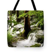 Forest Flows Tote Bag