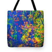 Forest Foliage Art Tote Bag