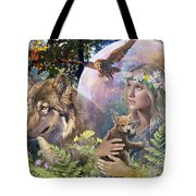 Forest Friends 2 Tote Bag