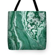 Forest Green Marble Tote Bag