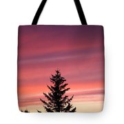 Forest Grove Sunset Tote Bag