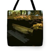 Forest Gump's Bench Tote Bag