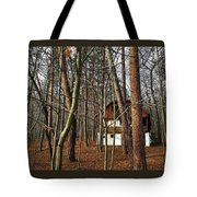 Forest House Tote Bag
