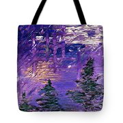 Forest In Lsd Tote Bag