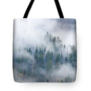 Forest In The Clouds Tote Bag