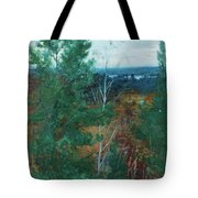 Forest Landscape Tote Bag