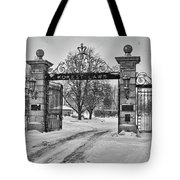 Forest Lawn Gate 4391 Tote Bag