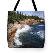 Forest Meets The Sea Tote Bag