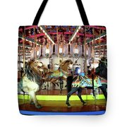 Forest Park Carousel Tote Bag